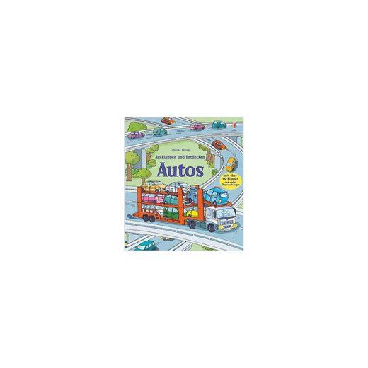 Usborne Verlag Aufklappen und Entdecken: Autos