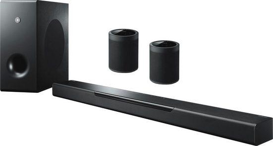 Yamaha MusicCast Bar 400 2.1 Soundbar (Bluetooth, WLAN (WiFi), 200 W, 2 Lautsprecher MusicCast20)