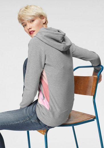 Sweatshirt farbeinsätzen »tasty« Mit Mazine Colorblocking 1YOx48