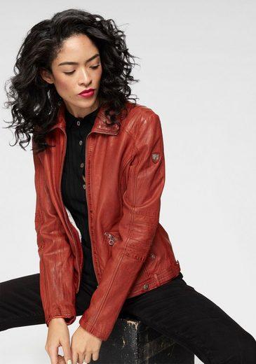 Gipsy Lederjacke »JENNET LADAV« in Trendfarbe Rot
