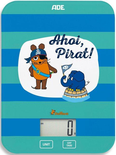 """ADE Küchenwaage »KE1802 Maus – Edition Abenteuer Ahoi Pirat""""«   Küche und Esszimmer > Küchengeräte > Küchenwaagen   ADE"""