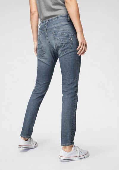 Please Jeans Boyfriend-Jeans »P6AG« mit abgerundeten Ziernähten 42df9cccda