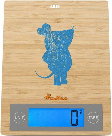 ADE Küchenwaage »Maus – Edition Shabby Chic KE1807«