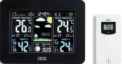 ADE »WS1503« Funkwetterstation (mit Außensensor, Thermometer/Hygrometer mit Funk- und Außensensor)