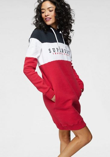 Superdry Sweatkleid »TRACK AND FIELD SWEAT DRESS« im Trend Colourblocking