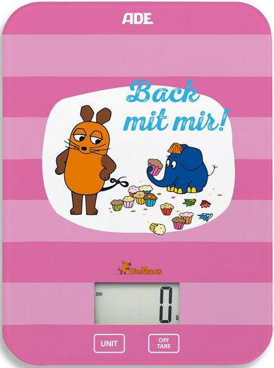 "ADE Küchenwaage »KE1801 Maus – Edition Freundschaft ""Back mit mir«"