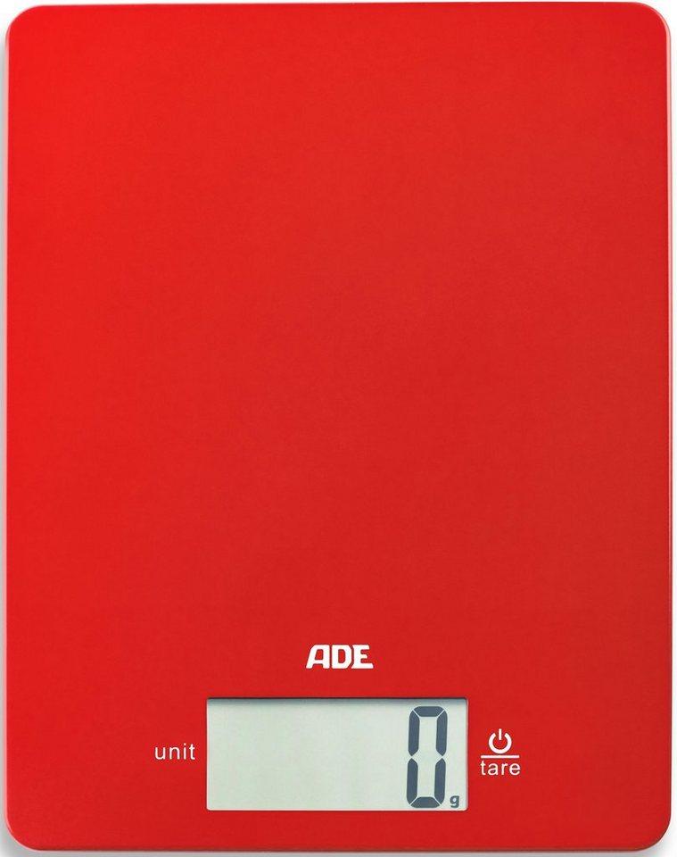 ADE Küchenwaage »KE1800 Leonie« | Küche und Esszimmer > Küchengeräte > Küchenwaagen | Rot | ADE