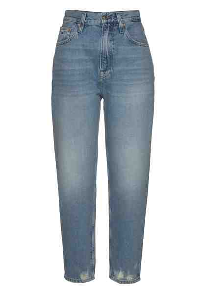 TOMMY JEANS Tapered-fit-Jeans in trendiger Mom-Form