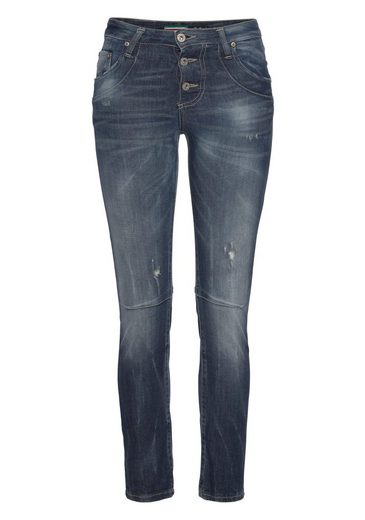 Jeans Leichten Please jeans fit »p08« Destroyed Skinny Effekten Mit fqpPwqZd