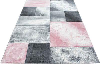 Teppich »Hawaii 1710«, Ayyildiz, rechteckig, Höhe 13 mm, handgearbeiteter Konturenschnitt, Wohnzimmer