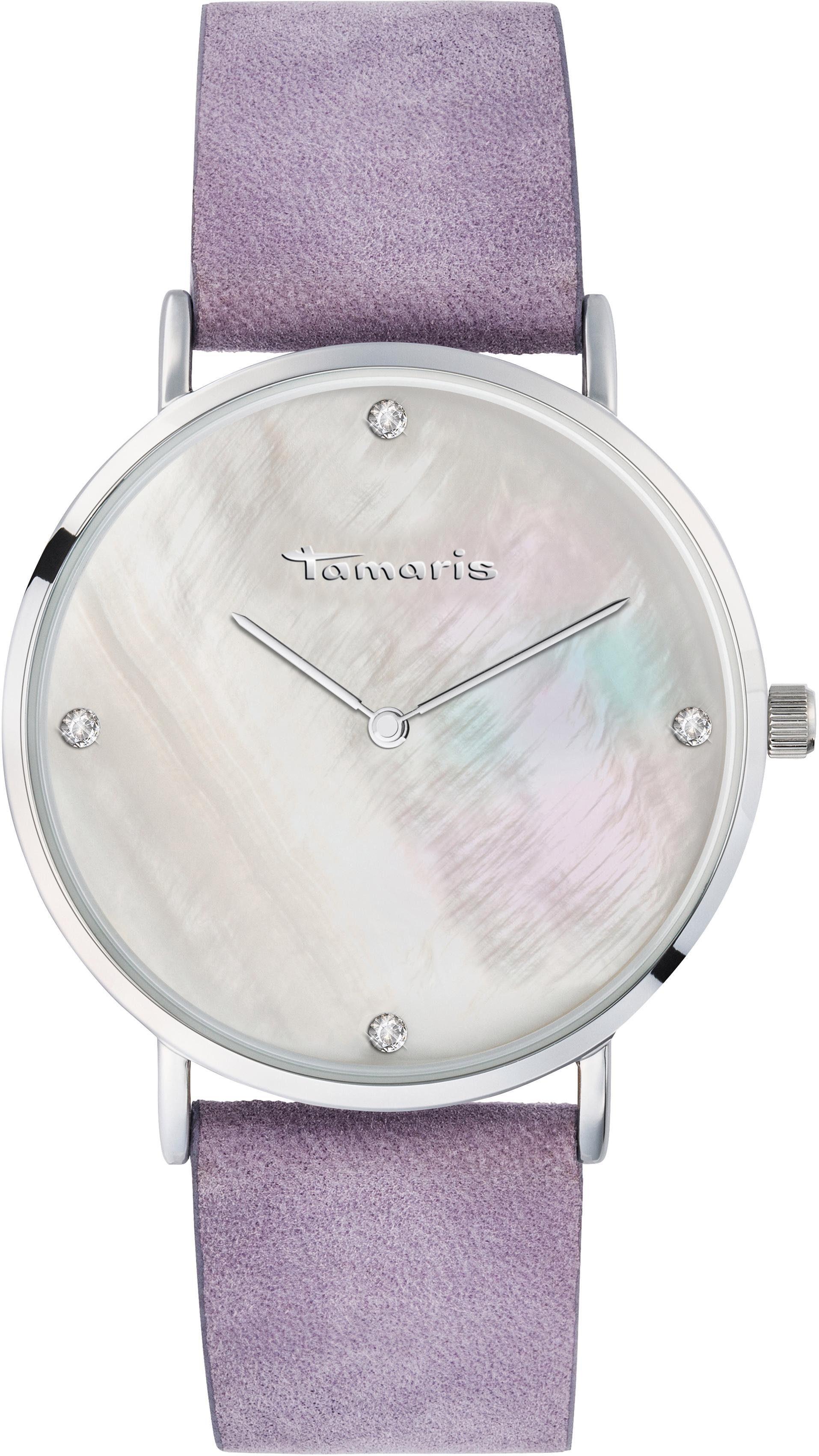 Tamaris Quarzuhr »Anika purple, TW012«