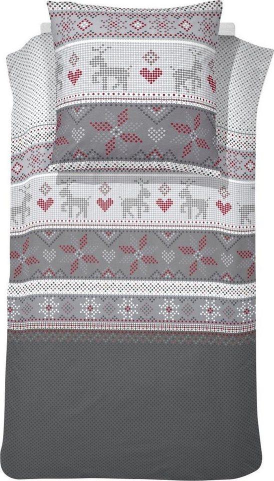 Bettwasche Tromso Cinderella Mit Winterlichem Design Online Kaufen Otto