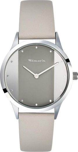 Tamaris Quarzuhr »Anita grey silver, TW017«