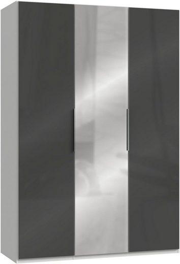 Fresh To Go Kleiderschrank »Level« mit Glas- und Spiegeltüren