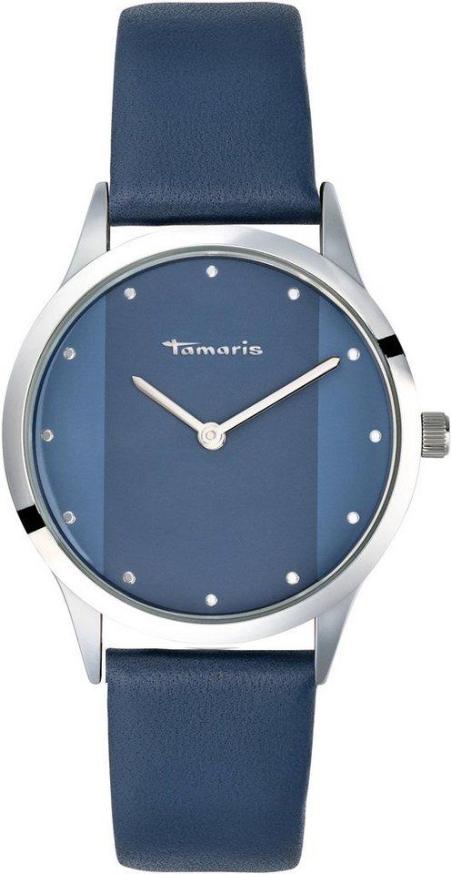 Damen Tamaris Quarzuhr »Anita blue, TW014« blau | 04260608030137