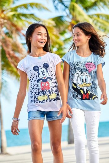 Disney T-Shirt »DONALD DUCK« in weiter legerer Form