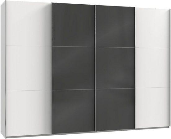 Fresh To Go Schwebetürenschrank »Level« mit Glastüren und Synchronöffnung