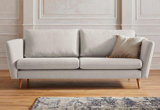 Guido Maria Kretschmer Home&Living 3-Sitzer »Cergy«, in skandinavischem Stil, mit Beinen aus Eiche
