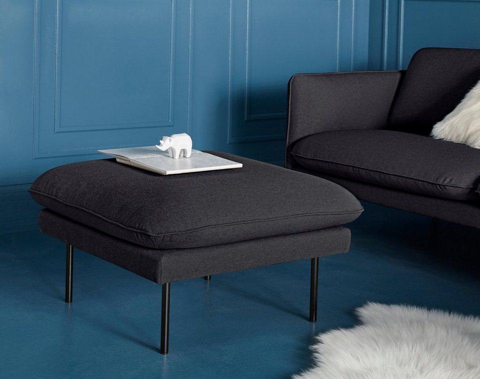 couch hocker levon mit metallbeinen kaufen otto. Black Bedroom Furniture Sets. Home Design Ideas