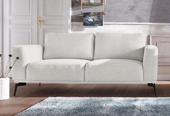 Guido Maria Kretschmer Home&Living 2-Sitzer »Nantes«, in wunderschönem Design, ungewöhnliche Metallbeine