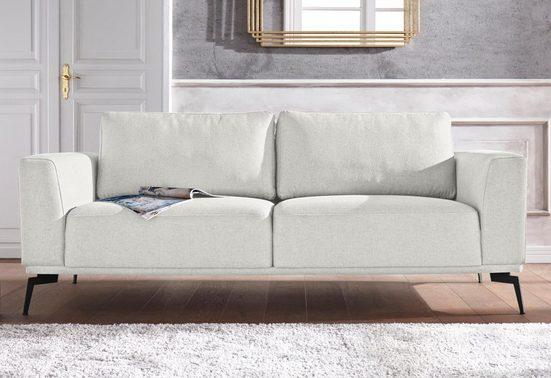 Guido Maria Kretschmer Home&Living 3-Sitzer »Nantes«, in wunderschönem Design, ungewöhnliche Metallbeine