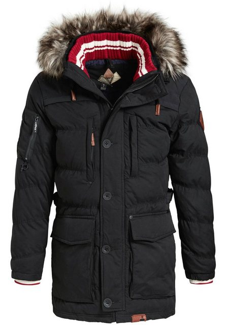 khujo -  Steppjacke »NEYTON WITH RIB COLLAR« mit warmer Wattierung