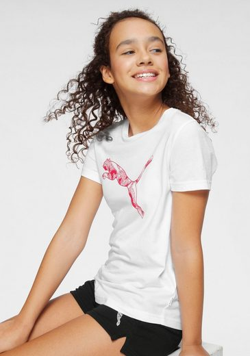 PUMA T-Shirt »TEE GIRLS«