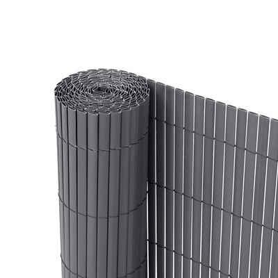 Ribelli Balkonsichtschutz Zaunsichtschutz PVC ca. 0,8 x 3m anthrazit