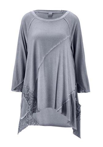 HEINE CASUAL блуза с круглым вырезом в объем...