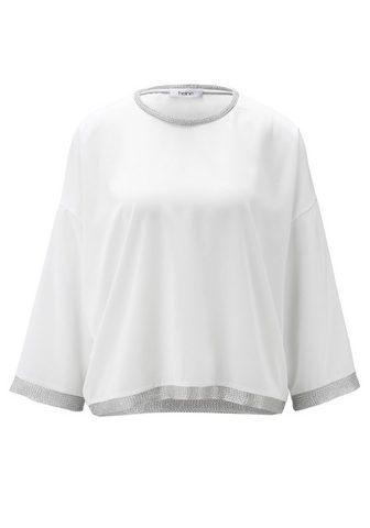 HEINE CASUAL блуза с Metallefekten