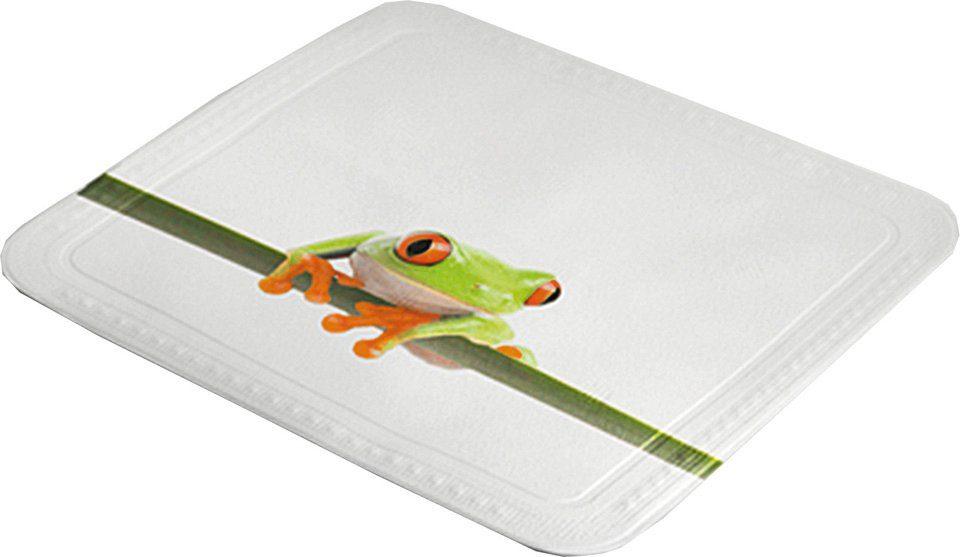 KLEINE WOLKE Duscheinlage »Frog«, 55 x 55 cm