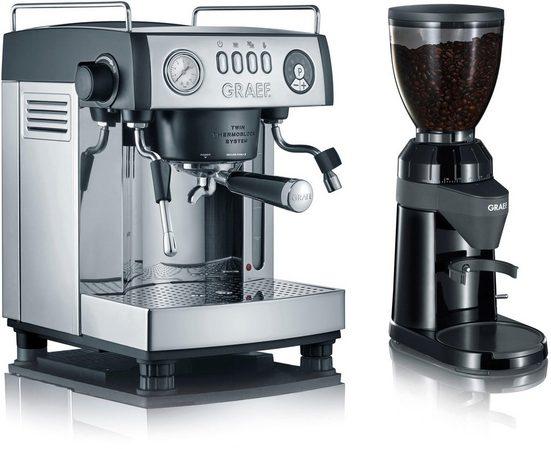 """Graef Espressomaschine """"baronessa Set"""", inkl. Kaffeemühle CM 802 im Wert von €179,99 UVP"""