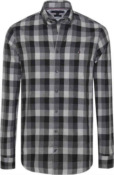 25faa25979dc Tommy Hilfiger Hemd »SLIM HERRINGBONE CHECK SHIRT«