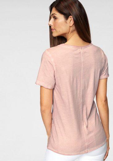 Boysen's Mit Print Modischen Glitzersteinchen shirt Yv7qfxY