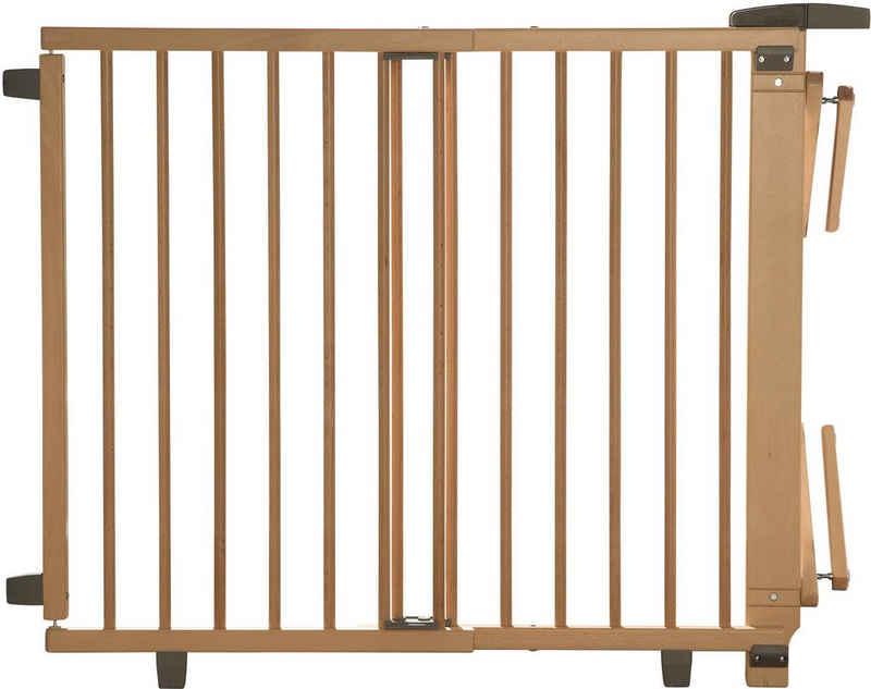 Geuther Treppenschutzgitter »Plus, natur, 95-135 cm«, aus Holz