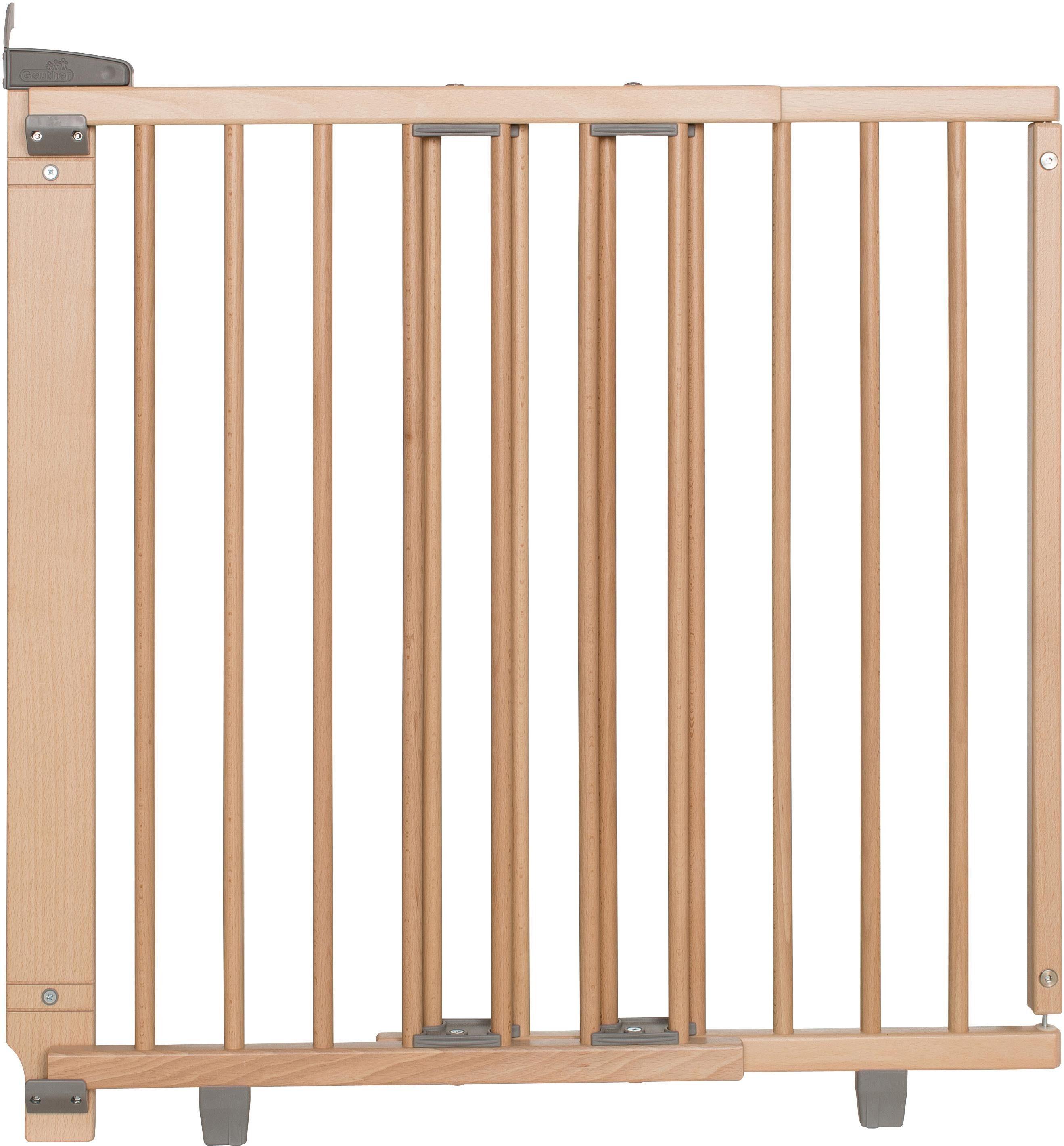 Neu Geuther Zusatzklemmen für Treppenschutzgitter weiß lackiert Buche massiv