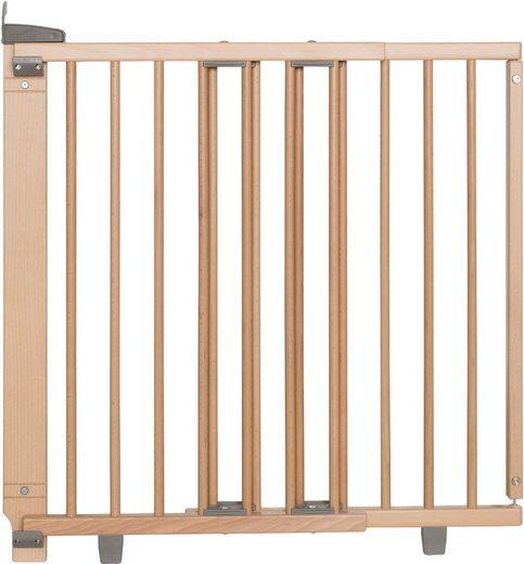 Geuther Treppenschutzgitter »Plus, natur, 67-107 cm«, aus Holz