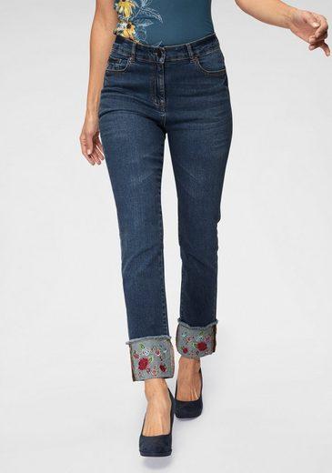 Joe Browns Girlfriend-Jeans mit Stickerei