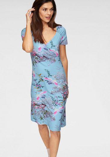 Joe Browns Jerseykleid in Wickeloptik mit schönem Blumen-Print