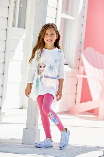 Disney Frozen Shirt & Leggings »Elsa« (Set, 2-tlg) mit Eiskönigin Motiv