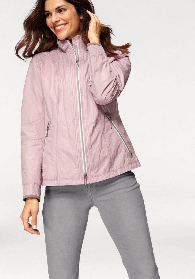 Gil Bret Kurzjacke mit Stehkragen und liebevollen Details   Bekleidung > Jacken > Kurzjacken   Rosa   Gil Bret