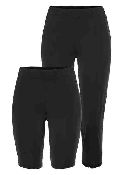 Boysen's Caprihose (Packung, 2 tlg., 2er-Pack) Capri-Leggings & Shorts