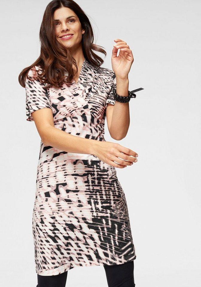 0e7ec2b579371f Boysen's Jerseykleid mit schönem Druck kaufen | OTTO