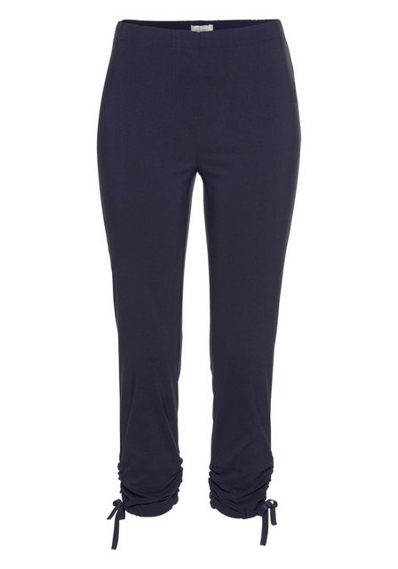 Hosen - Boysen's 7 8 Hose mit variierbarer Raffung am Saum › blau  - Onlineshop OTTO