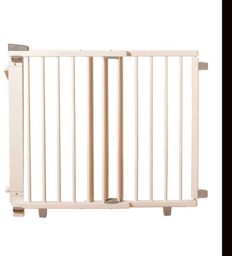 Geuther Treppenschutzgitter »Plus, weiß, 67-107 cm«, aus Holz
