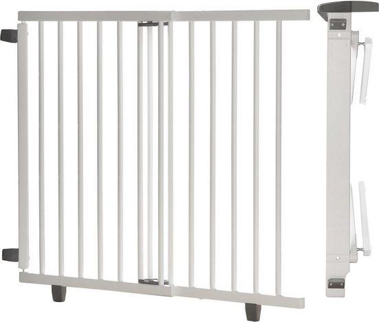 Geuther Treppenschutzgitter »Plus, weiß, 95-135 cm«, aus Holz