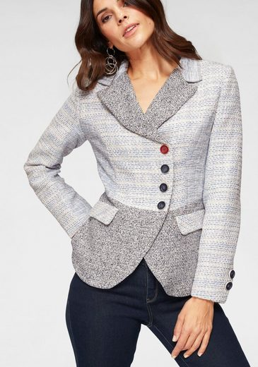 Joe Browns Kurzblazer Mustermix-Bouclé