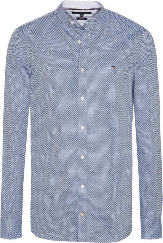 authentisch verschiedene Farben begrenzter Stil Tommy Hilfiger Hemd »SLIM GRID DOBBY PRINTED SHIRT« online kaufen | OTTO