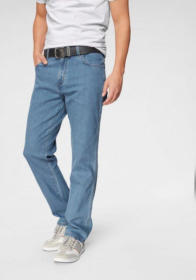 Herren Wrangler Stretch-Jeans Durable blau | 05415101886302
