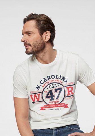WRANGLER Marškinėliai »Americana Logo Tee«